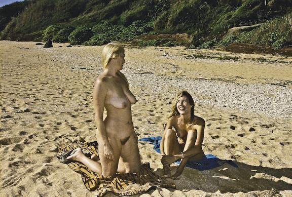 beaches Kauai nude